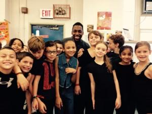 Jerijah West at PS6 Lillie D Blake: 3rd Grade African Dance Residency