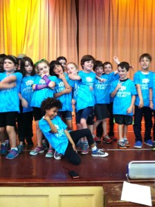 D-Wave in Motion 2nd Grade Hip Hop Residency taught by Criscia Richardson at PS40