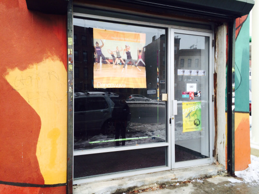 Dancewave 182 gets a grant from Mertz Gilmore Foundation to begin renovation of our new studio space!