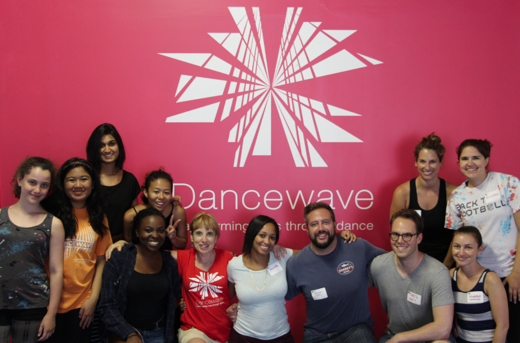 Corporate Volunteer Day at Dancewave – A Success!