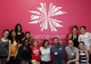 Corporate Volunteers Event at Dancewave