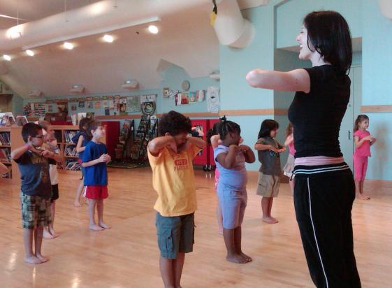 DWave in Motion: Dancewave NYC Publiic School Outreach Program
