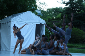 Dancewave Company performs Andrea Miller's 'Wonderland' at Pocantico Center in Tarrytown NY.