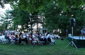 The Audience at Pocantico Center in Tarrytown NY.