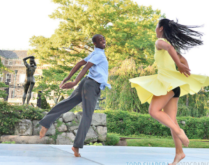 Dancewave Company performs Larry Keigwin's 'Canvas' at Pocantico Center in Tarrytown NY.