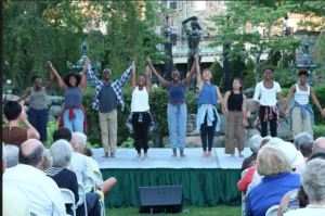 Taking a bow – Dancewave Company at Pocantico