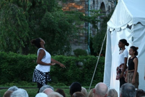 Dancewave Company performs Kyle Abraham's 'Pavement' at Pocantico Center in Tarrytown NY. Image Credits: Wenting Sun