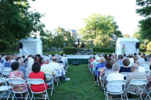 The Audience at Pocantico Center in Tarrytown NY. Image Credits: Wenting Sun