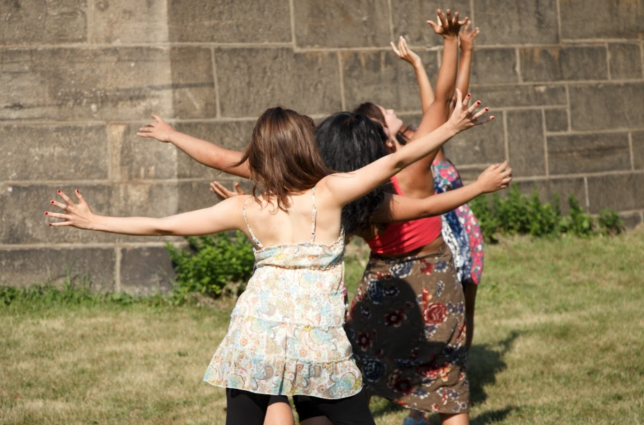 Dancewave's Advanced Intensive culminated in two beautiful showcase performances at Governors Island!