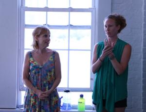 Diane Jacobowitz and Nicole Touzien from Dancewave