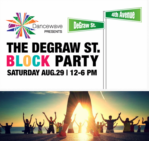 YOU ARE INVITED: Dancewave's End of Summer Block Party at DeGraw Street on Saturday, August 29   12-6pm